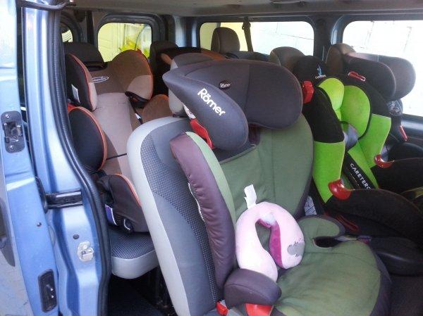 A te járművedben mennyi gyermekülés fér el?
