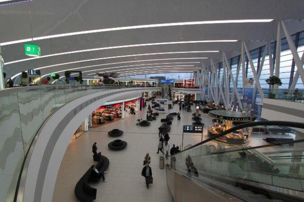 Szabadidő eltöltése a reptéren