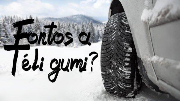 Fontos a téli gumi?