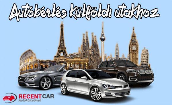 Autóbérlés külföldi utakhoz